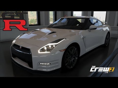 The Crew 2 - NISSAN R35 GT-R - Customization, Top Speed Run, Review
