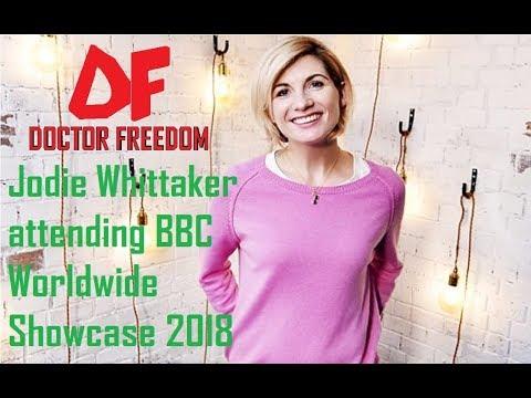 DOCTOR WHO NEWS - Jodie Whittaker attending BBC Worldwide Showcase 2018