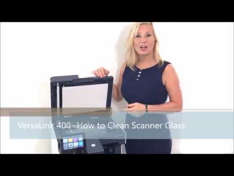 VersaLink 400 - How to Clean Scanner Glass