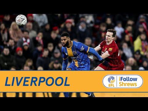 HIGHLIGHTS: Liverpool 1 Shrewsbury Town 0 - Town TV