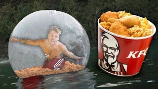 Video I Survived The Night In A Zorb Ball Filled With KFC Chicken.. download MP3, 3GP, MP4, WEBM, AVI, FLV Oktober 2018