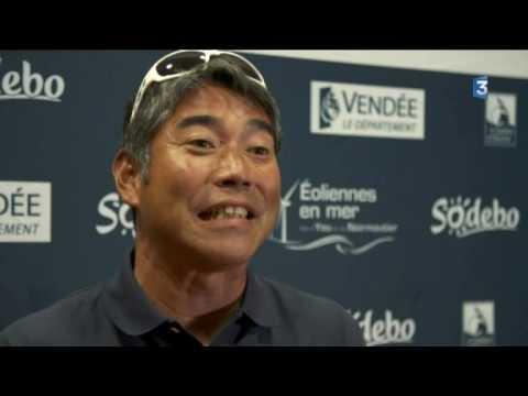 Vendée Globe : Portrait de Kojiro Shiraishi