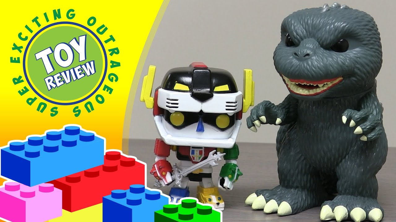 Pop Vinyl Godzilla Amp Voltron Funko Toy Review Youtube