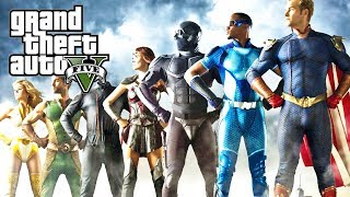 GTA V - THE BOYS no GTA, Snipers x Translucido