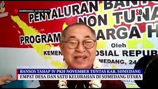 Download lagu 350 KPM di Sumedang Utara Terima Bantuan PKH MP3