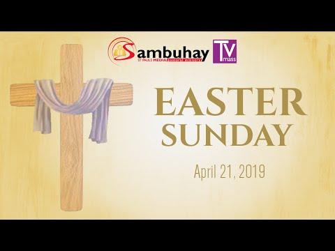 Sambuhay TV Mass | Easter Sunday (C) | April 21, 2019