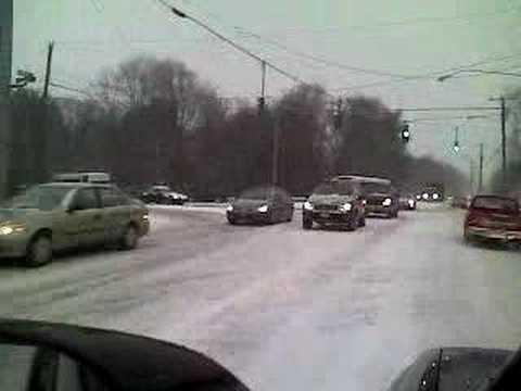 Snow In Hamden, CT
