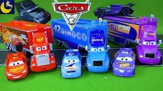 Disney Cars 3 Toys Mack Lightning McQueen Bobby Swift Dinoco Cal Weathers Jackson Storm Haulers Toys