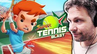 SUPER TENNIS BLAST (Gameplay em Português PT-BR) #SuperTennisBlast