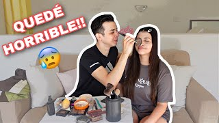 MI NOVIO ME MAQUILLA/ QUEDÉ HORRIBLE!! -LILLIAN GRIEGO