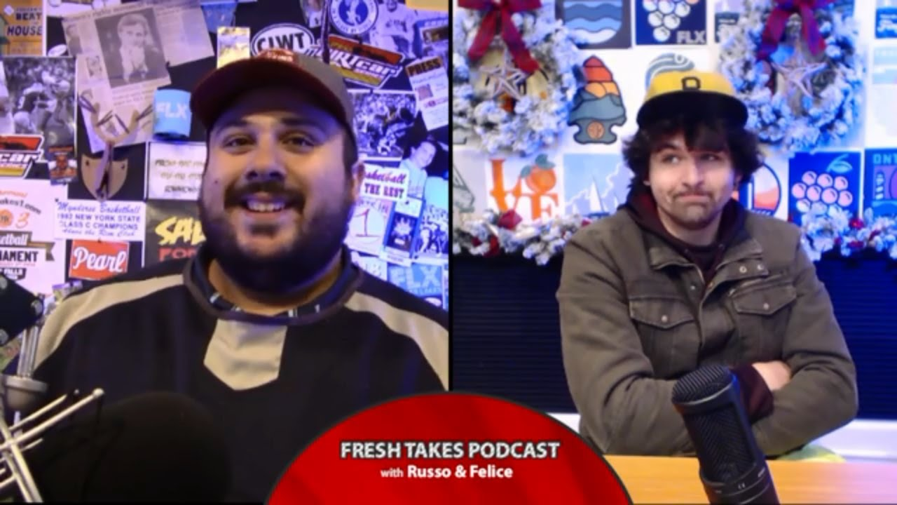 Thanksgiving Food Power Rankings .::. Fresh Takes w/ Russo & Felice 11/26/19