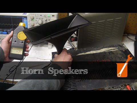 How a horn amplifies sound (hint: Impedance matching)