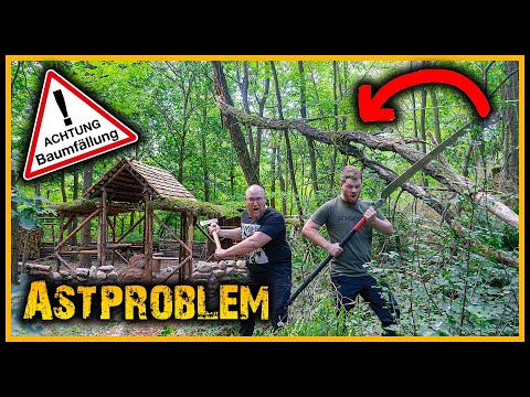Bushcraft Camp [S05/E22] ⚠️ Der Ast des Todes⚠️ - Bushcraft Survival Outdoor