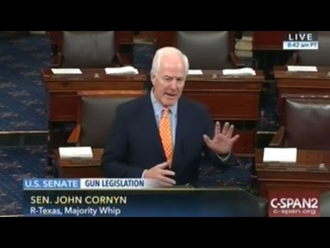 Senator Cornyn Remembers Senator Ted Kennedy Being On The NO-FLY List!