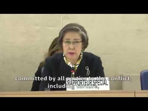 UN Human Rights Council - Special Rapporteur on Myanmar #UN #Geneva