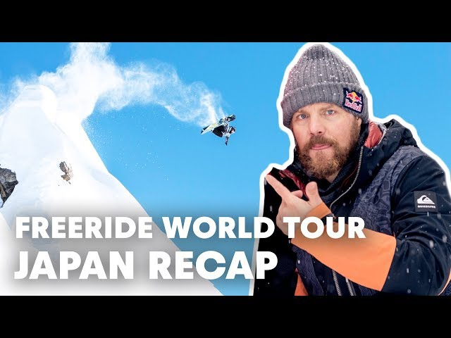 Travis Rice Wins The Freeride World Tour In Japan   Full Highlights