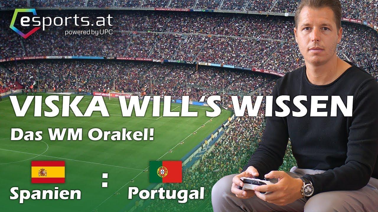FIFA 18: WORLD CUP RUSSIA WM ORAKEL ⚽ | PORTUGAL VS SPANIEN | MARIO VISKA