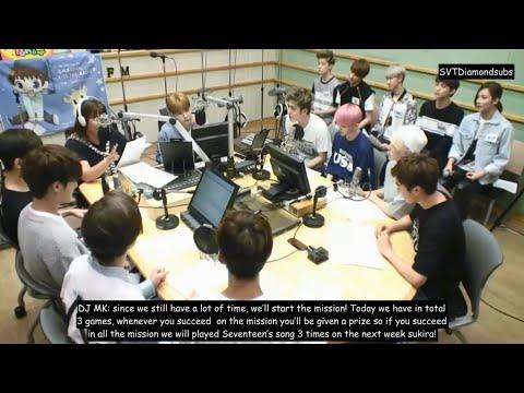 [ENG SUB] FULL 150703 SEVENTEEN (세븐틴) @ Kiss The Radio Sukira