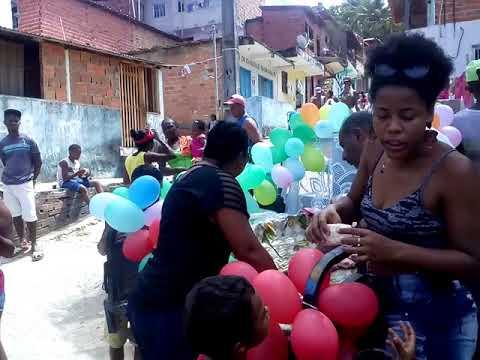Trabalho social em morro de São Paulo