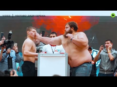 Fast Freddie - RUSSIAN FACE SLAPPING CHAMPION