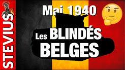 Les blindés belges en mai 1940
