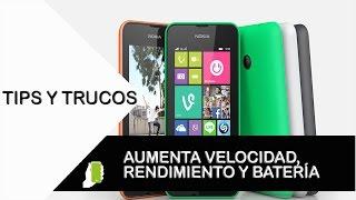 Nokia Lumia 530 tips y trucos para Windows  (aumenta velocidad, rendimiento y batería)