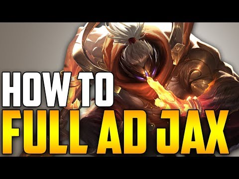 FULL AD JAX JUNGLE IS OP! - HOW TO DOMINATE EP. 35