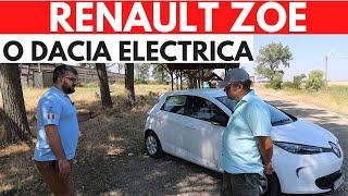 RENAULT ZOE - 30.000 km cu o MASINA ELECTRICA