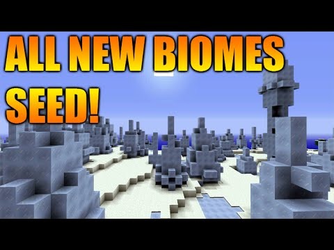 ★Minecraft Xbox 360/PS3: TU31 Seed All New Biomes One Seed - Mesa, Mega Taiga, Ice Spike & MORE★