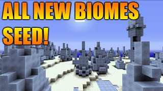 ★Minecraft Xbox 360/PS3: TU31 Seed All New Biomes One Seed - Mesa, Mega Taiga, Ice Spike & MORE★