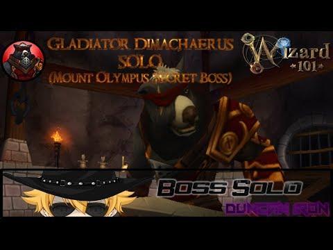 Wizard101: Gladiator Dimachaerus Solo Strategy for All Schools Alpha