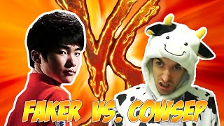 Faker vs. Cowsep (with MaRin) - Howling Abyss thumbnail