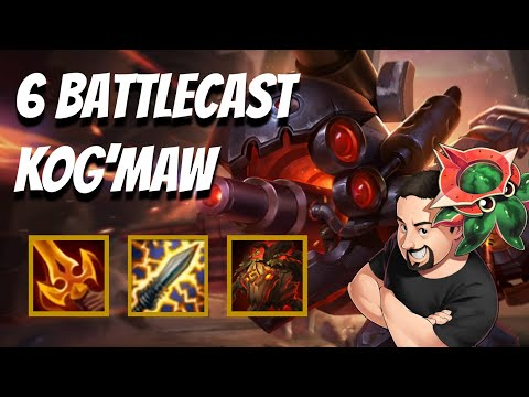 6 Battlecast Kog'Maw (2 of 3) | TFT Galaxies | Teamfight Tactics