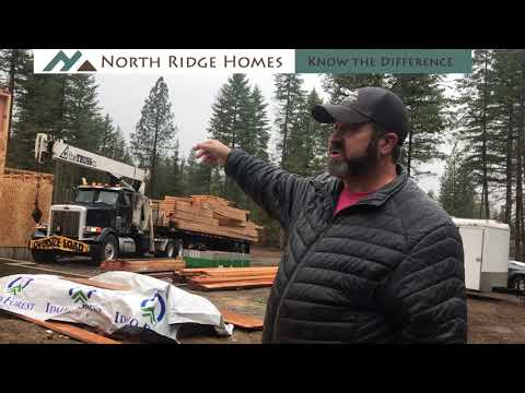 Custom Homes Series - Episode 22: Truss Delivery