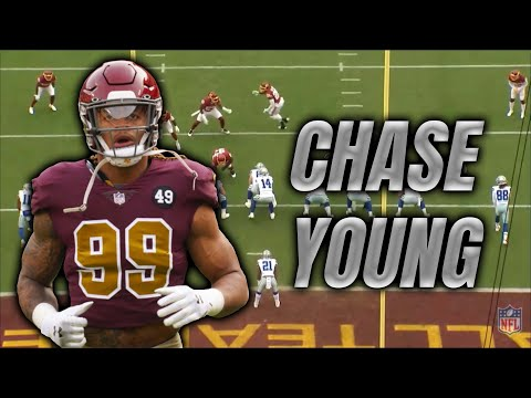 Chase Young is developing into a quarterback's worst nightmare