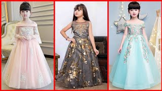 Beautiful fancy party wear baby frock designs collection