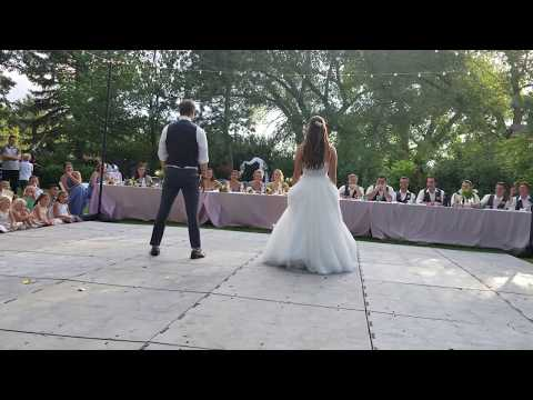 Best Bride and Groom First Dance Ever-Emily and Nate