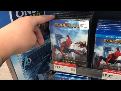 Blu Ray/DVD shopping 10/17/17 (Swinging in for a steelbook or 2!!)