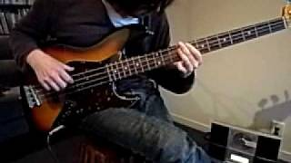 The Jam Beat surrender bass cover april 2010