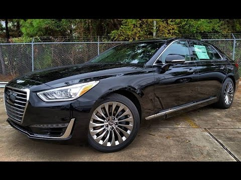 2017 Genesis G90 5.0 Ultimate Start Up In Depth Review