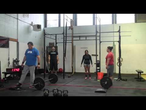 2015 Crossfit Team Series Event 8 Cape Flattery Fidness Team Alpha
