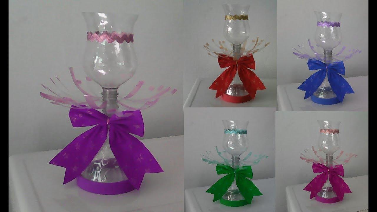 Papel Adesivo De Parede Cozinha ~ Baleiro de garrafa pet fácil,aniversario,decoraç u00e3o,festa,lembrancinha,reciclagem,#artesanato