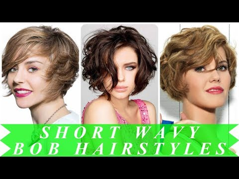 Popular ideas for bob hairstyles for wavy hair 2018