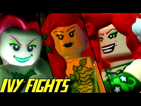 Evolution of Poison Ivy Battles in LEGO Batman Games (2008-2017)