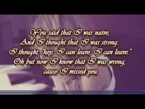 Stay (I Missed You) - Lisa Loeb With Lyrics