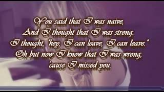 Stay I Missed You Lisa Loeb With Lyrics