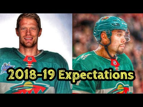 Minnesota Wild 2018-19 Expectations