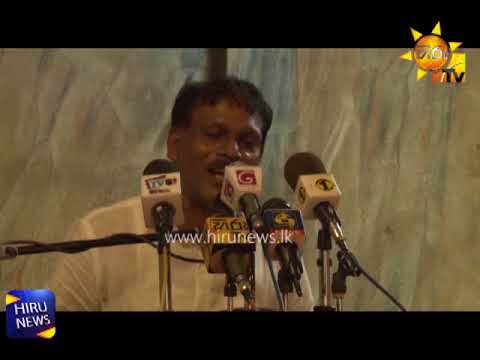 Joint opposition Opinion on JVP support for provincial council amendment bill