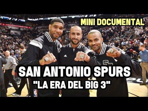 """San Antonio Spurs - """"La Era del Big3""""   Mini Documental NBA"""