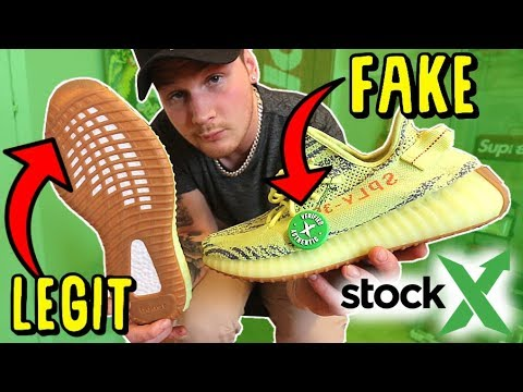 38bc565ca6aa StockX sells FAKE SNEAKERS.. HERE S THE PROOF! - YouTube